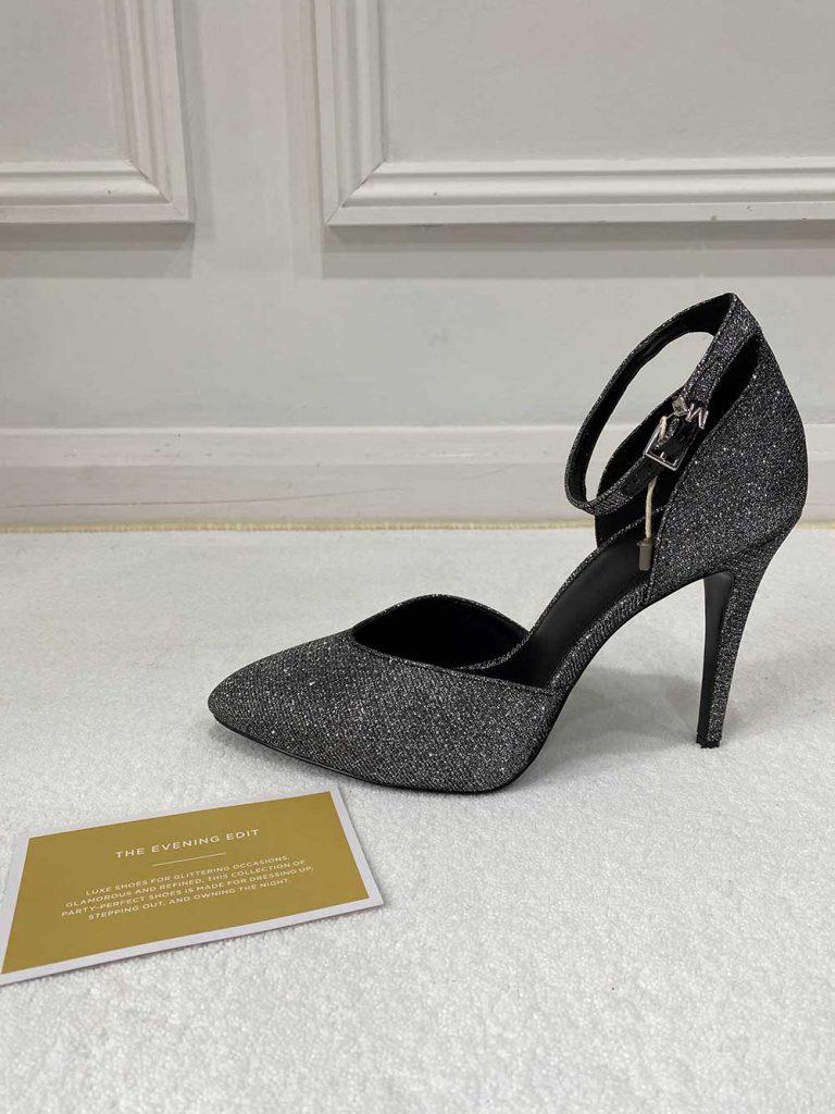 Michael Kors Elysia Glitter Heels