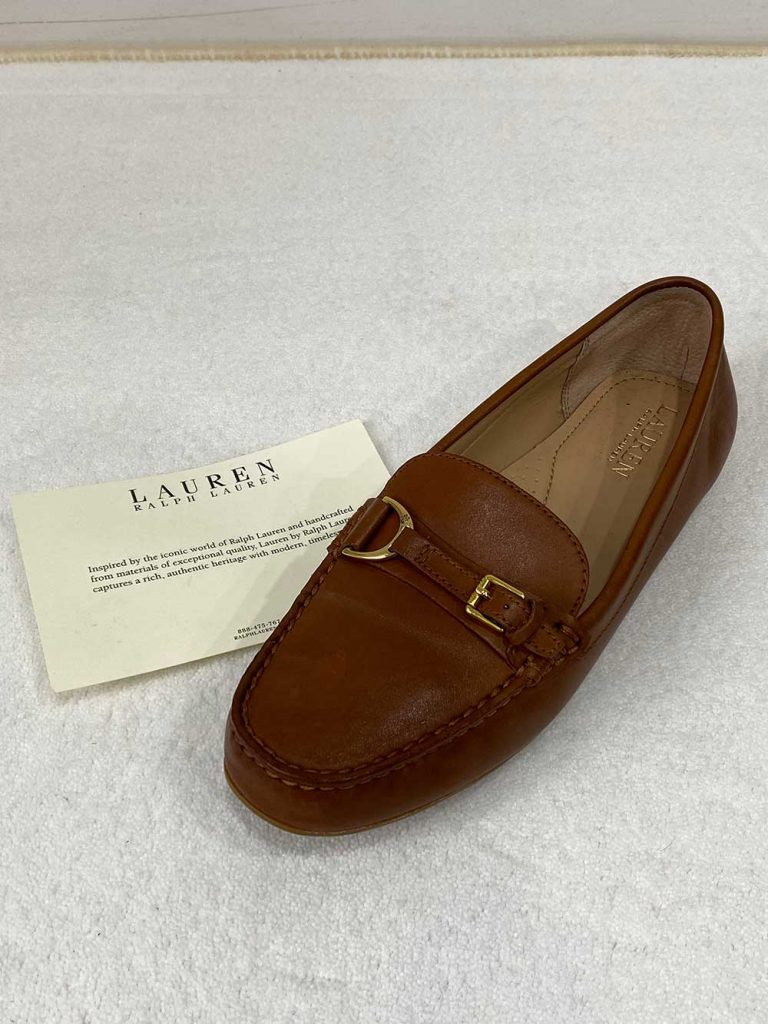 Ralph Lauren Beckworth Tan Loafers
