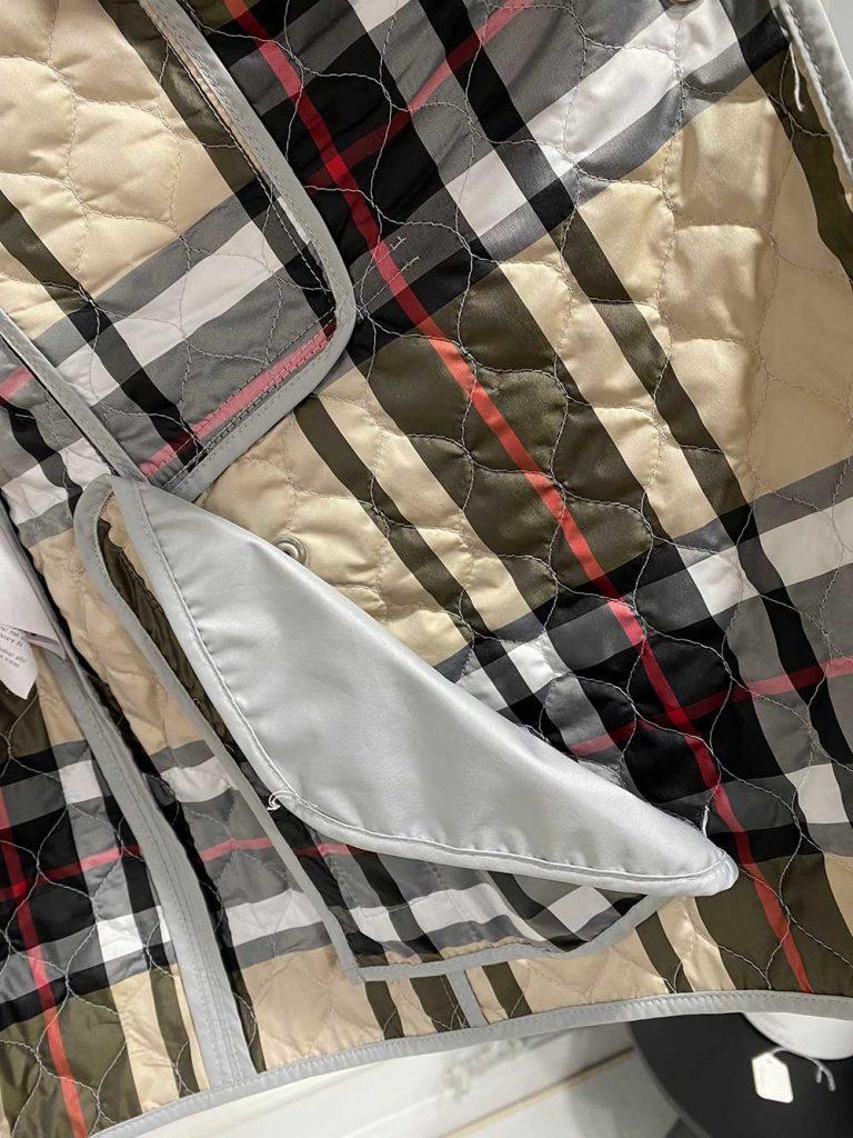 Basler Grey Quilted Jacket
